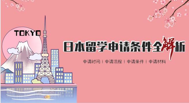 日本留学流程